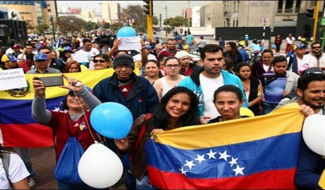rceni - trámites consulares - Venezolanos -en- Perú- lo- realizaran- en- su- embajada -