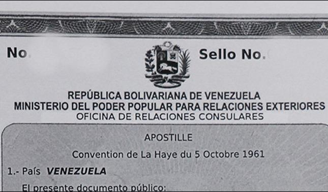 rceni - Apostilla electrónica - los -venezolanos- pueden- hacerlo- desde- españa- y- chile-
