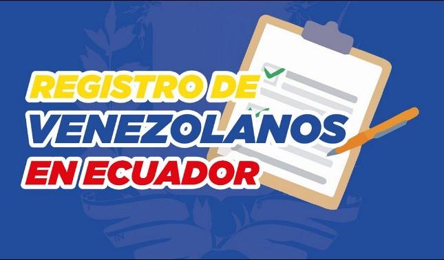 rceni - Registro migratorio - para- Venezolanos- en -Ecuador- cinco- claves -