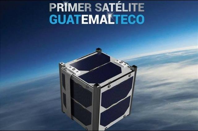 rceni - nanosatelite quetzal1 -de- Guatemala -es- lanzado -al -espacio-