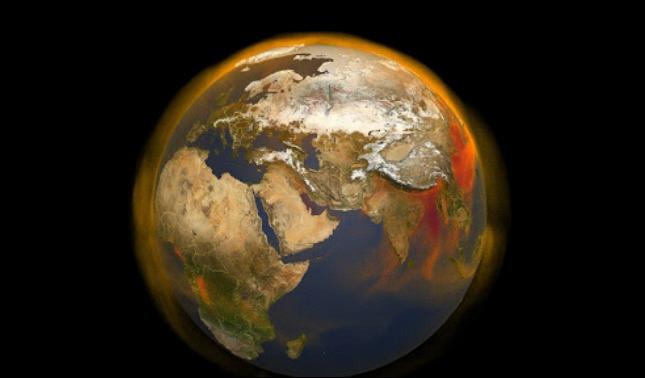 rceni - Gas metano - nasa- muestra -vista- 3D -de -fuentes- y -movimientos- en -el -mundo-