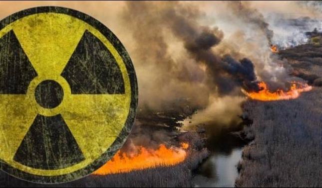 rceni -incendios en Chernóbil -se -acercan -a -los -depósitos -de- residuos -radiactivos -