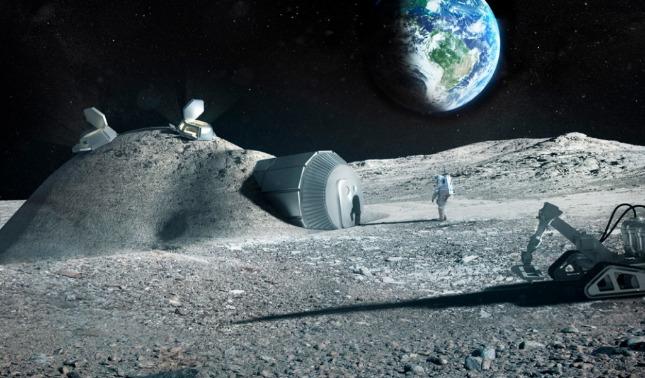 rceni - Urea -de- la- orina- material -clave- de -construcción- para -futuras -bases -lunares-