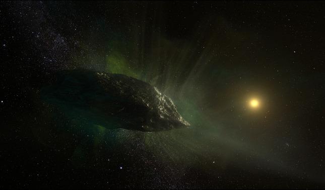rceni - el cometa interestelar- 2IBorisov -captan -una- composición -química- inusual-