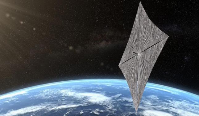 rceni - Vela solar -es- preparada -por- nasa -buscando -nueva- forma- de -propulsion-