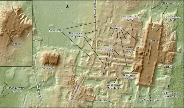 rceni - Aguada Fénix - ciudad -maya -más -antigua- y -más -grande- jamás -encontrada-