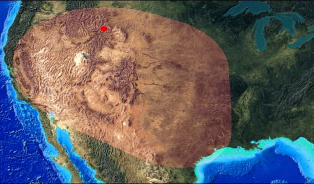rceni - El supervolcán yellowstone -captan -al- menos- 11 -sismos- en- un- dia -