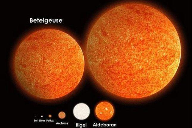 rceni - antares -crean- mapa- es -una -estrella -700 -veces -más -grande -que- el -Sol-