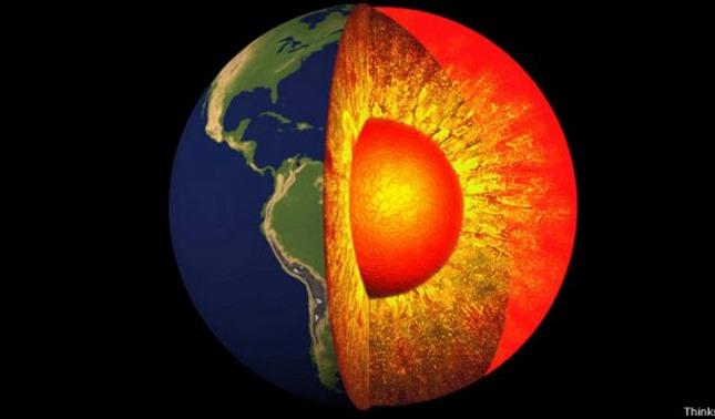 rceni - núcleo de la tierra -y -manto- consiguen -estructura- densa- jamas- vista-