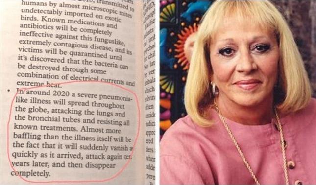 rceni - sylvia browne - en- su -libro- End -of -Days -del- 2008 -predijo -el -coronavirus-