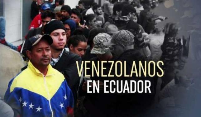 rceni - Venezolanos en Ecuador- pueden- pedir -visa -humanitaria- hasta- el- 14- agosto-