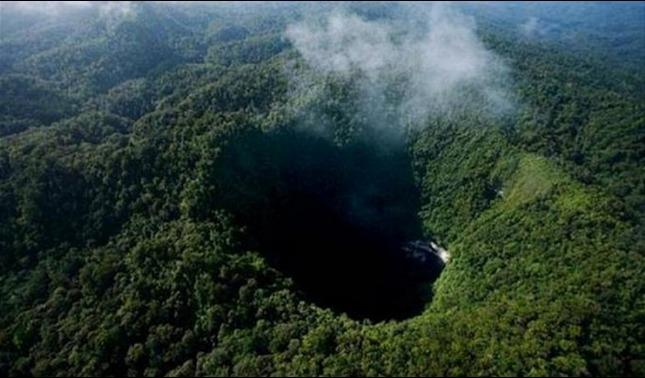 rceni - cueva sima humboldt -en -Venezuela- el -abismo- más- grande- del- Mundo-