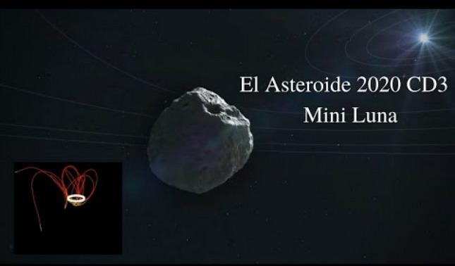 rceni - Mini luna -2020- cd3- esta -orbitando -nuestro -planeta -tierra-