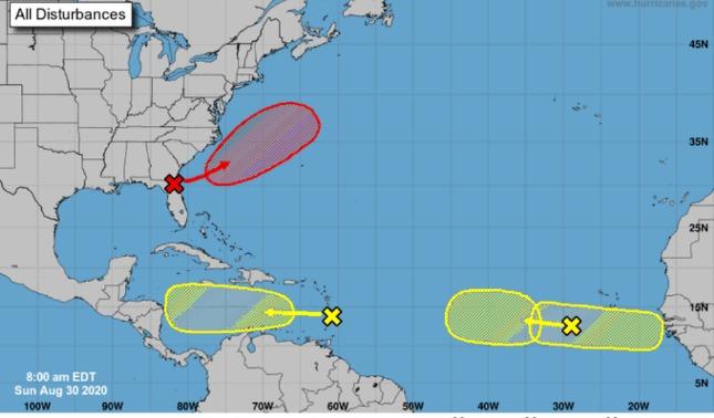 rceni - Ondas tropicales - en -el- Atlántico- pueden- provocar- depresiones -tropicales-