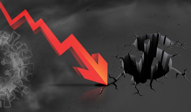 rceni - Recesión récord -de- la -economía -mundial -por- la -pandemia-