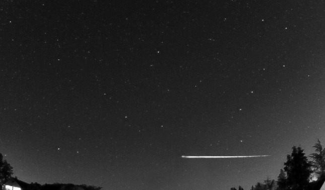 rceni - Asteroide Earthgrazer - rebota- en- la -atmósfera -de- la- Tierra-