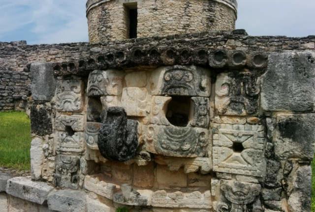 rceni - Máscara de chaac - deida -maya -es -recuperada- por -Guatemala-