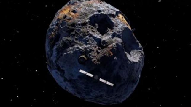 rceni - Asteroide metálico psyche -su- valor- supera- a- toda- la- economía -global-