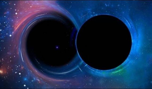 rceni - Dos agujeros negros -logran- captan -su- colision -por- primera- vez-
