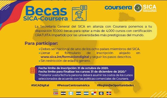 rceni - SICA digital - ofrece -cursos- de -formación- profesional -y -técnica -