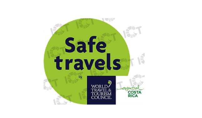rceni - Sello Safe Travels - de- turismo -seguro- en -Costa- Rica-