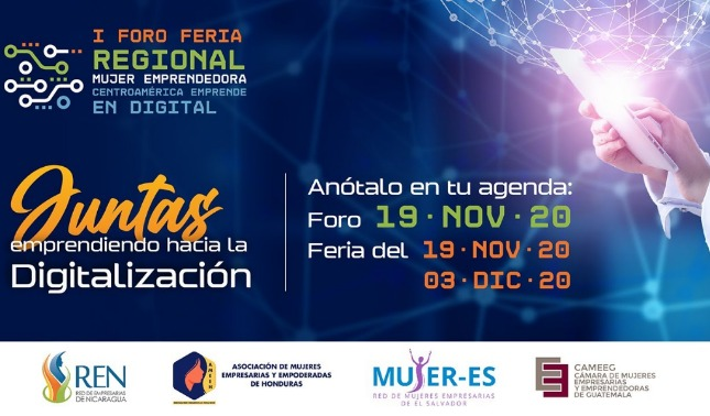 rceni - I foro feria regional -mujer -emprendedora -Centroamérica-