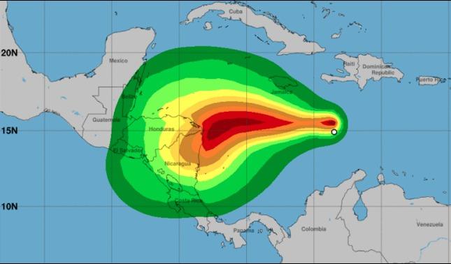 rceni - Tormenta tropical eta -activa- alerta- de -huracan- en -Centroamerica-