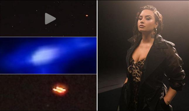 rceni - Demi Lovato - tiene -contacto- con -extraterrestres- muestra -sus -evidencias-