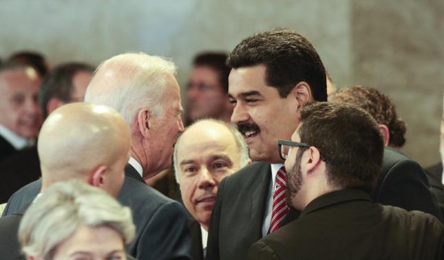 rceni - J Biden -afirman- que -pretende -negociar -con-Maduro- mientras- ignora- a -Guaido-