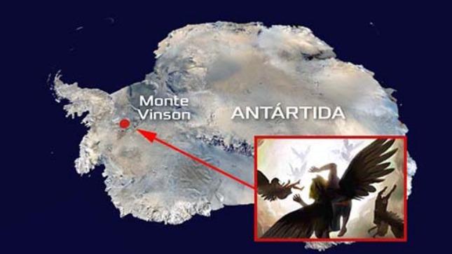 rceni - Ángeles -caídos- están -encerrados- en- la- Antártida -segun- el- libro- de- Enoc-