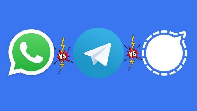 rceni - Las redes sociales -Signal- vs-Telegram- 3- cosas -que- debes -saber-