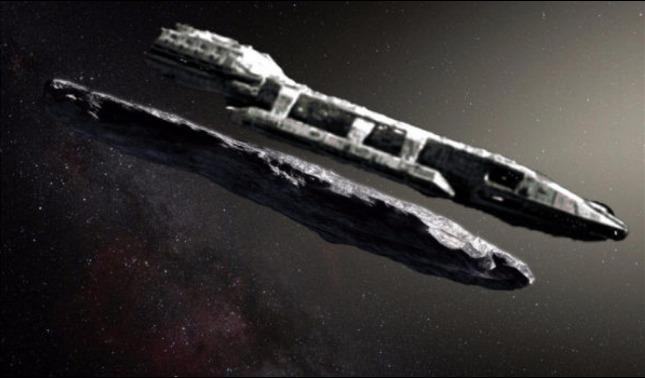 rceni - Objeto interestelar Oumuamua -es -tecnologia -alienigena- afirma- astronomo -