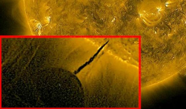 rceni - Ovnis gigantes - usarian- el- sol -como -portal -dimensional -propone- una -teoria-