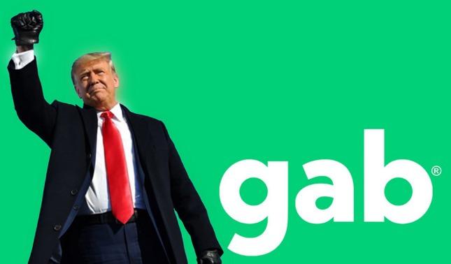 rceni - Gab -es- la -red -social -donde -reaparecio- Donald- Trump-