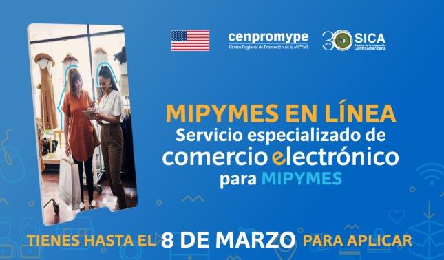 rceni - Mipymes en línea - programa -que -ofrece -fondos- y- asesoria -digital- en- CA -