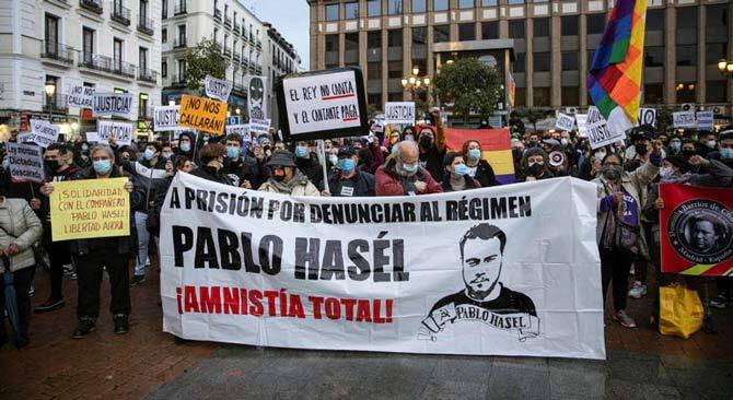 rceni - Pablo Hasel -y -los --presos -políticos en- España-Germán- Gorraiz -López-
