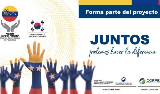 rceni - Proyecto -en- Ecuador -busca -insertar -venezolanos- en- el- mercado- laboral-