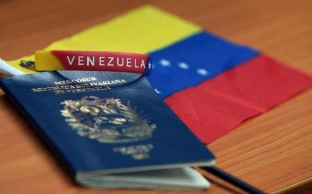 rceni - Vigencia de los pasaportes - venezolanos -Chile- extendio -por -dos- años- mas-