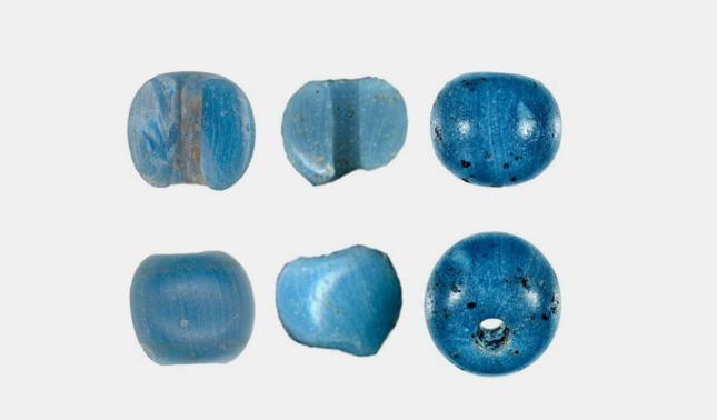 rceni - cuentas de vidrio - halladas- en -alaska- son -datadas -antes- de- llegada- colon-