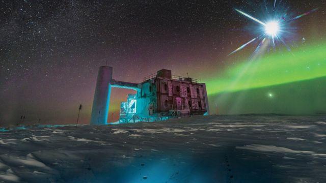 rceni - Antineutrino -de -origen- extraterrestre- es- hallado- en- el- polo- sur-