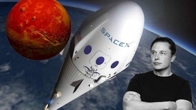 ceni - Ceo Elon Musk -publica -una -imagen- en- Twitter- y- muestra -un -ovni -en- Marte-