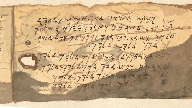 rceni - Manuscrito de Shapira -considerado- el -texto- biblico- mas- antiguo- hallado-