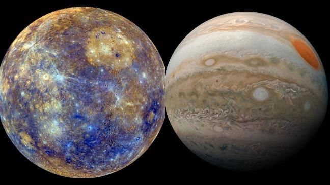 rceni - Mercurio y Júpiter - estaran -en- conjuncion- este- 5- de- marzo-