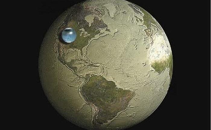 rceni - Todo lo que queda de agua dulce -en- la- Tierra- es- un- 0.007%-