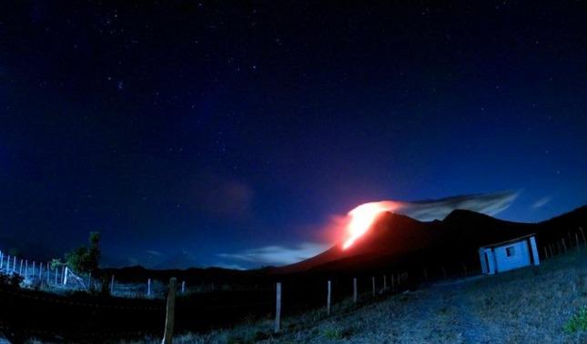 rceni - Volcán Pacaya -en -Guatemala- intensifica -su- actividad-