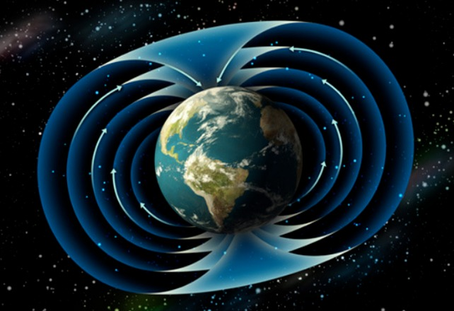 rceni - campo magnético terrestre