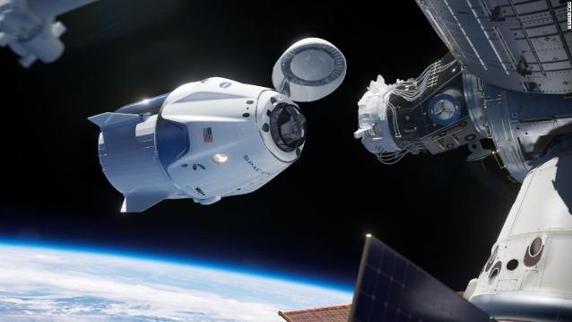 rceni - Crew Dragon - de- SpaceX- NASA- -revela-que -casi -choca- con- un -ovni- Video-