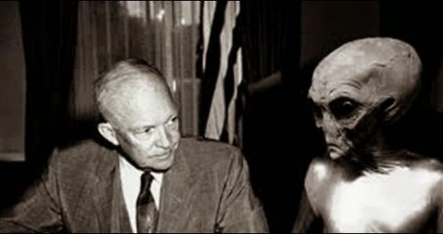 rceni - Presidente Eisenhower -revelan- que- tuvo- 3 -encuentros- con- extraterrestres-