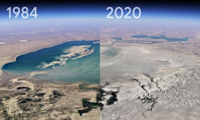 rceni - Timelapse de google earth -muestra- cómo- a-cambiado- la- Tierra- en- 37 -años-