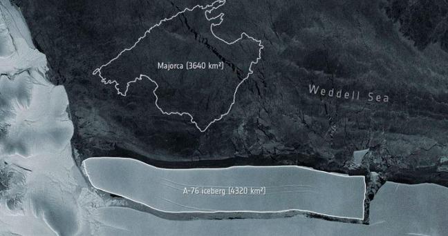 rceni - El iceberg -mas- grande- del- mundo- se -desprendio -de- la- Antartida-